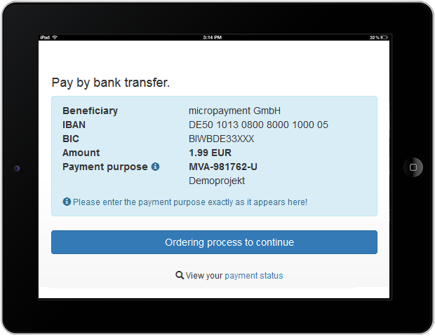 responsive & customizable payment pages